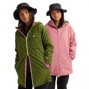 Go to the product Street jacket Burton Moondaze rosebud/pesto green 2020