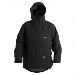 Prejsť na produkt Street bunda Follow Layer 3.11 Outer Spray Anorak black 2020