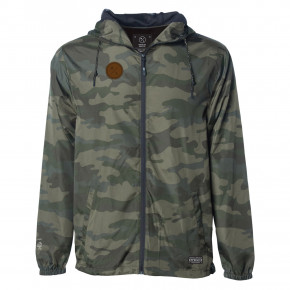 Prejsť na produkt Street bunda Hyperlite Backwoods Windbreaker forest camo 2019