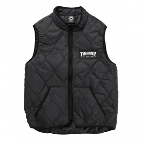 Go to the product Street jacket Thrasher Magazine Logo Vest black 2019