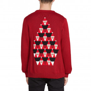 Przejść do produktu Sweter Volcom Santastone Cardigan deep red 2019