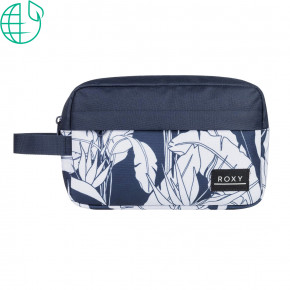 Go to the product Toiletry bag Roxy Beautifully mood indigo flying flowers 2020
