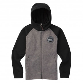 Przejść do produktu Bluza Burton Boys Crown Bonded Fz monument heather/black 2018/2019