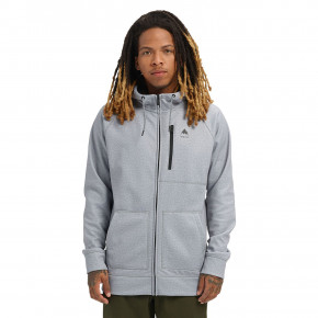 Go to the product Tech Hoodie Burton Crown Bonded Fz grey heather 2020
