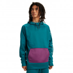 Go to the product Tech Hoodie Burton Crown Bonded Solution Dyed deep lake teal 2020