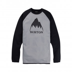 Go to the product Tech Hoodie Burton Crown Wpf Crew grey heather/true black 2020/2021