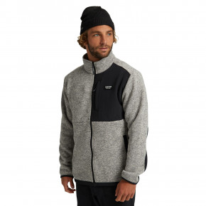 Przejść do produktu Bluza Burton Hayrider Sweater Fz Fleece grey heather 2020/2021