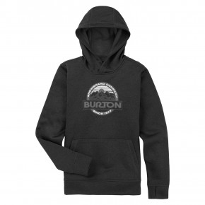 Go to the product Tech Hoodie Burton Kids Oak Pullover true black heather 2020/2021