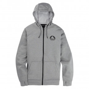 Go to the product Tech Hoodie Burton Oak Seasonal Fz grey heather 2020/2021