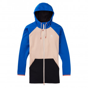 Go to the product Tech Hoodie Burton Wms Crown Wpf Long Fz lapis blue/peach melba 2020/2021