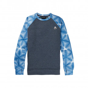 Go to the product Tech Hoodie Burton Wms Oak Crew dress blue/blue daliola shibori 2020/2021
