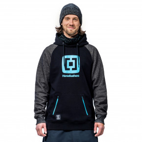 Go to the product Tech Hoodie Horsefeathers Sherman Eiki cracked black 2020/2021