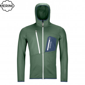 Przejść do produktu Bluza Ortovox Fleece Grid Hoody green forest 2020/2021