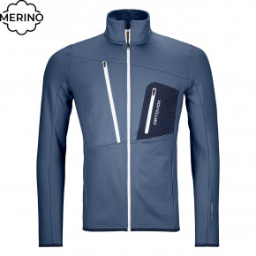 Przejść do produktu Bluza Ortovox Fleece Grid Jacket night blue 2020/2021