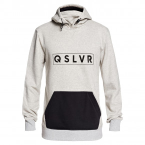 Go to the product Tech Hoodie Quiksilver Big Logo Tech Hoodie light grey heather 2019/2020