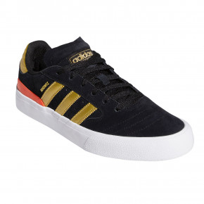 Go to the product Skate shoes Adidas Busenitz Vulc II core black/gold metallic/slr red 2020