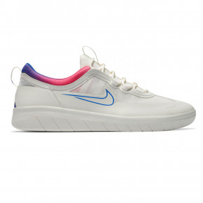 Go to the product Skate shoes Nike SB Nyjah Free 2 summit white/racer blue-pink bls 2020