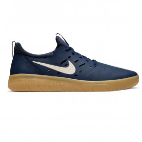 Go to the product Sneakers Nike SB Nyjah Free midnight navy/summit white-navy 2019