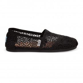 Go to the product Slip-On Toms Alpargata black moroccan crochet 2020
