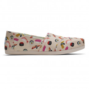 Go to the product Slip-On Toms Alpargata natural sushi dinn print 2020