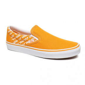 Przejść do produktu Tenisówki Vans Classic Slip-On logo repeat cadmium yellow/true 2020