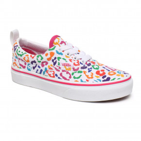 Go to the product Sneakers Vans Era Junior Elastic Lace rainbow leopard fuchsia purple 2020