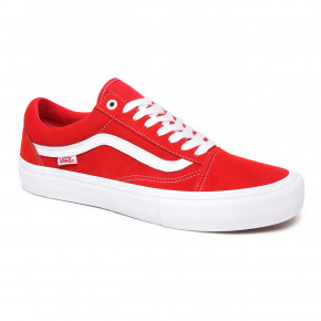 Go to the product Sneakers Vans Old Skool Pro suede red/white 2020