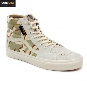 Go to the product Sneakers Vans Sk8-Hi cordura white asparagus/camo 2019