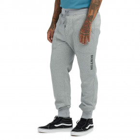Go to the product Sweatpants Burton Oak Pant grey heather 2020