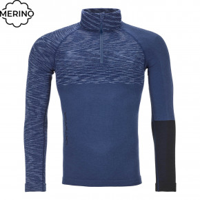 Przejść do produktu Koszulka Ortovox 230 Competition Zip Neck night blue blend 2020/2021