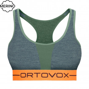 Go to the product First layer Ortovox Wms 185 Rock'n'wool Sport Top green forest blend 2020/2021