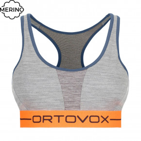 Go to the product First layer Ortovox Wms 185 Rock'n'wool Sport Top grey blend 2020/2021