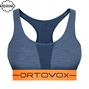 Go to the product First layer Ortovox Wms 185 Rock'n'wool Sport Top night blue blend 2020/2021