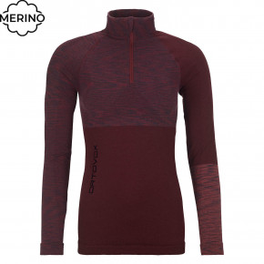 Go to the product Top Ortovox Wms 230 Competition Zip Neck dark wine blend 2020/2021