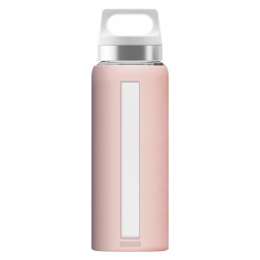 Go to the product Thermos and Bottles Sigg Glass Dream pink 0,65l