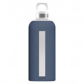 Go to the product Thermos and Bottles Sigg Glass Star dark blue 0,5l