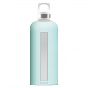 Go to the product Vacuum bottle Sigg Glass Star turquoise 0,5l