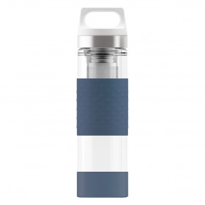 Go to the product Thermos and Bottles Sigg Hot & Cold Glass wmb midnight 0,4l
