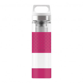 Go to the product Thermos Sigg Hot & Cold Glass wmb berry 0,4l