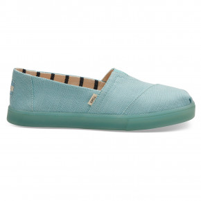Go to the product Sneakers Toms Alpargata Cupsole turquoise heritage 2019