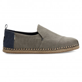 Przejść do produktu Toms Deconstructed Alpargata drizzle grey washed 2019