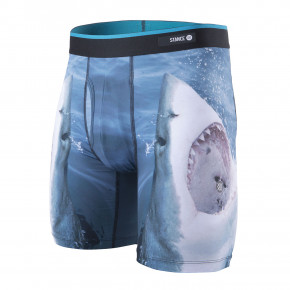Go to the product Boxer shorts Stance Shark Tooth Bb navy 2019