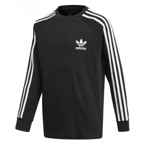 Go to the product T-shirt Adidas 3-Stripes Ls black/white 2020