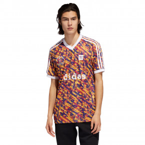 Go to the product T-shirt Adidas Allover Club Jersey multicolor/white 2019
