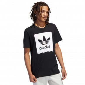 Go to the product T-shirt Adidas Solid BB black/white 2019