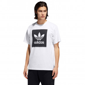 Go to the product T-shirt Adidas Solid BB white/black 2019
