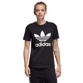 Go to the product T-shirt Adidas Trefoil black/white 2019