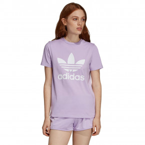 Go to the product T-shirt Adidas Trefoil purple glow 2019