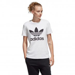 Go to the product T-shirt Adidas Trefoil white/black 2019