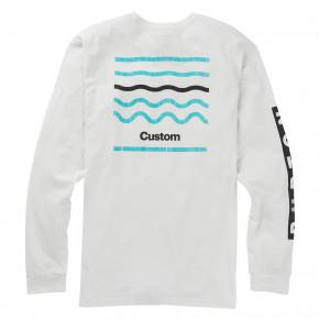 Prejsť na produkt Tričko Burton Custom LS stout white 2018 2019 926bb0b71d8